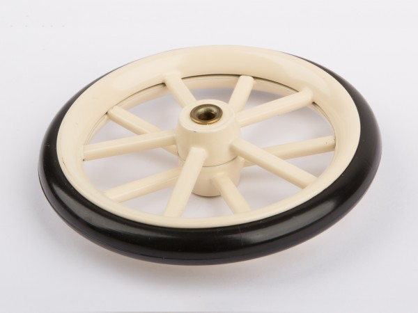 Wheel with rubber tyre D320, A325