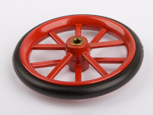 Wheel with rubber tyre D305