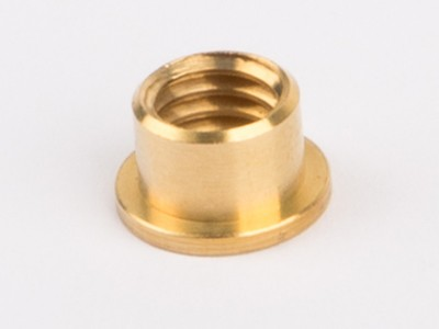 Collar nut, solder ring M6 for steam whistle and manometer